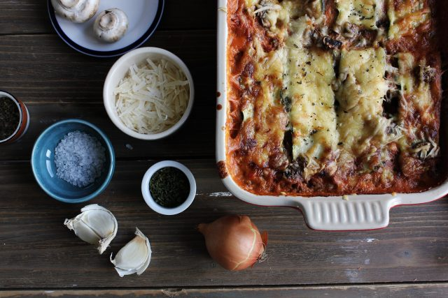 Lasagna delivered to your door with the new Drop Off Menu
